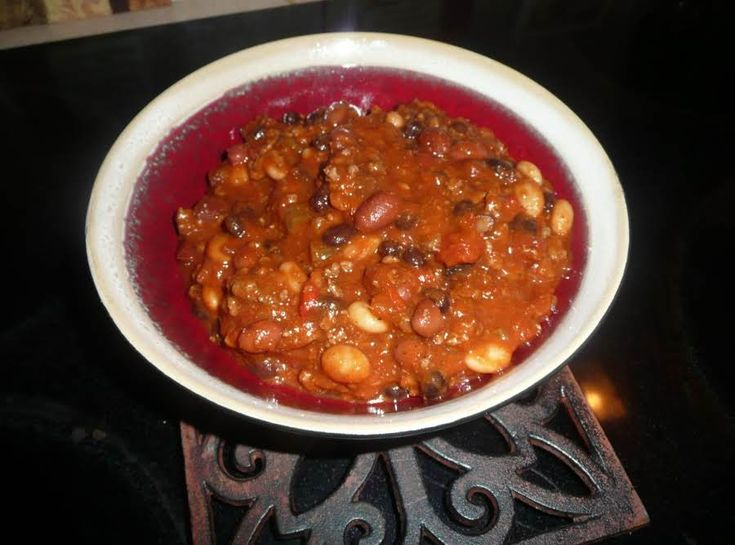 5 Star Chili #justapinchrecipes