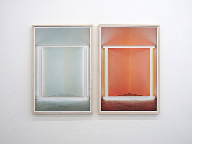 Untitled, 2012  Archival pigment inkjet print on photobase paper  96.5 x 67 cms. each, 96.5 x 140 cms. overall   Ed. ¼