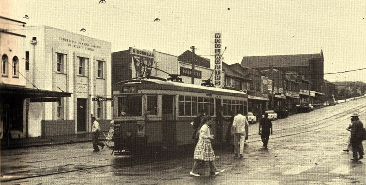 Maroubra Road Maroubra Junction Sydney Australia  1940's