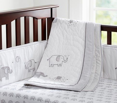 Unisex Baby & Crib Bedding, Unisex Nursery Bedding | Pottery Barn Kids