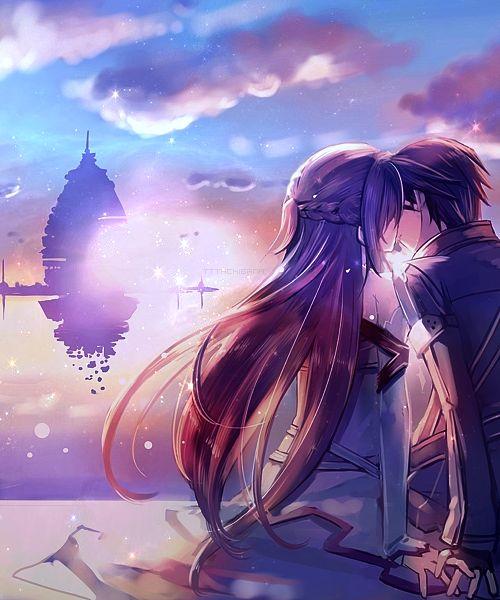 SAO Kirito & Asuna *--*