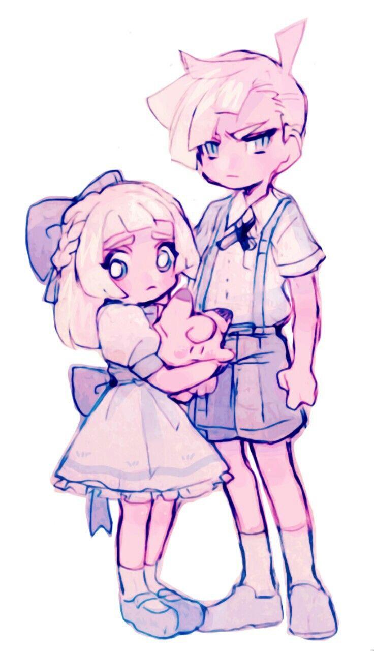 Lillie & Gladion