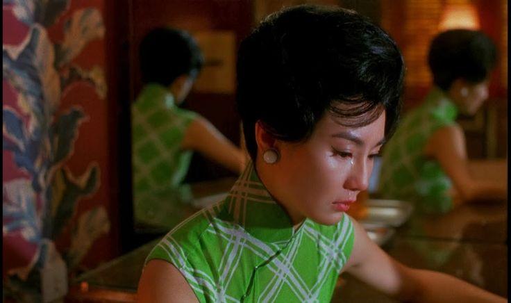 maggie cheung as li-zhen, in the mood for love, wong kar-wai 2000.