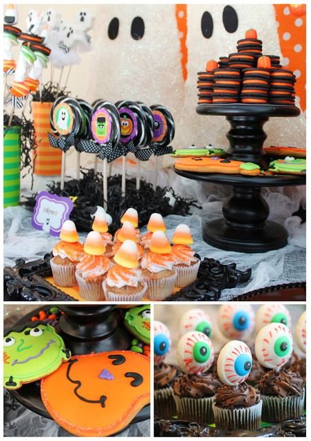 halloween birthday party loot bag ideas