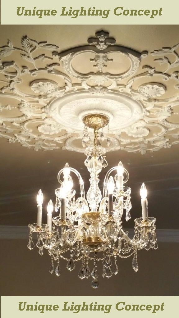 EUROPEAN HIGH QUALITY LEADED CRYSTAL CHANDELIER 16 ARMS 12 LIGHT