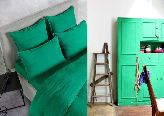 la d co vert meraude d co vert emeraude pinterest blog deco deco design et place. Black Bedroom Furniture Sets. Home Design Ideas