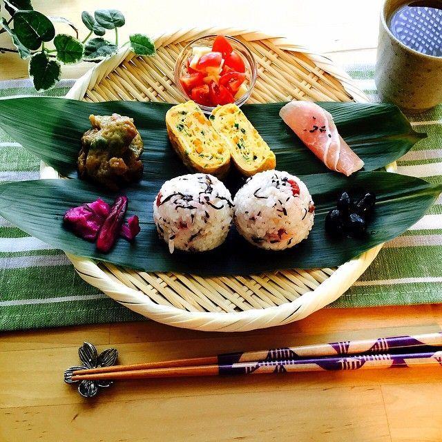 インスタで話題の「和ンプレート」が朝食にぴったり♡ - macaroni