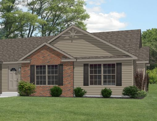 Ranch House Red Brick And Siding Color Combinations