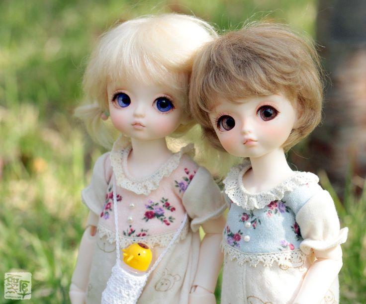 www.dollhwoo.com BJD doll Hwoo new face ♥Mashu&Pong-ti♥
