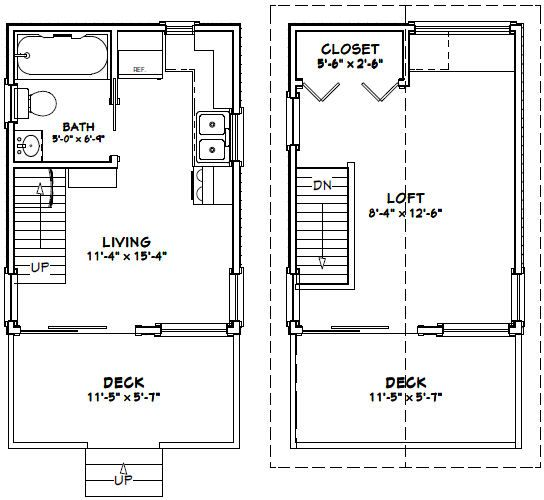93 best small house floor plans images on pinterest for Tiny house floor plans pdf