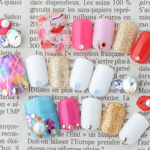 #Summer nails nailart