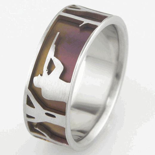 Best 25+ Hunting wedding rings ideas on Pinterest | Country ...