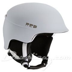 Casco snow Red Theory White Matte