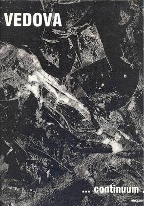 Vedova Continuum. Milano, Mazzotta, 1991. Catalogo della mostra di Milano, Padiglione d'Arte Contemporanea, 9 maggio - 30 giugno 1991