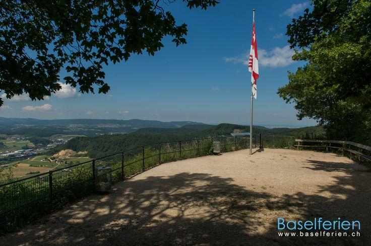 Wandervorschlag:   #Wandern im Ergolztal:  Sissach – Sissacher Fluh – Ruine Bischofstein – Gelterkinden