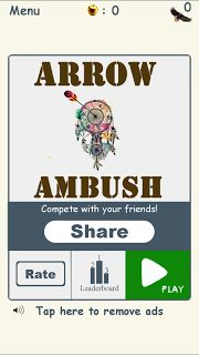 [FREE ANDROID GAME] Arrow Ambush - Must Try Game amongst 40K over 5-star reviews on the Play Store - Simple Fun Entertaining Addictive Arrow Shooting Game