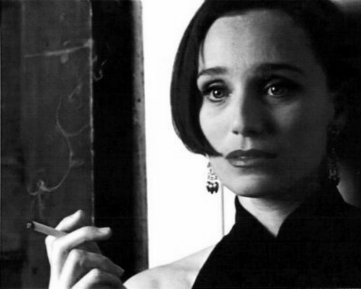 Kristin Scott Thomas in Four Weddings and a Funeral