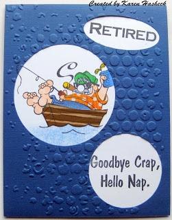 Karen's Kreative Kards: Crackerbox Palace Retirement Cards