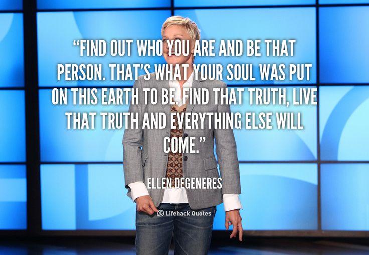 5 Motivating Quotes by Ellen DeGeneres