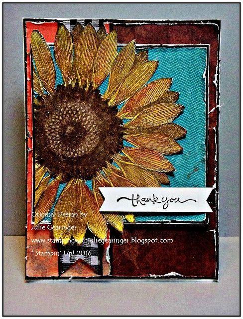 TCC62 Sunflower Thanks