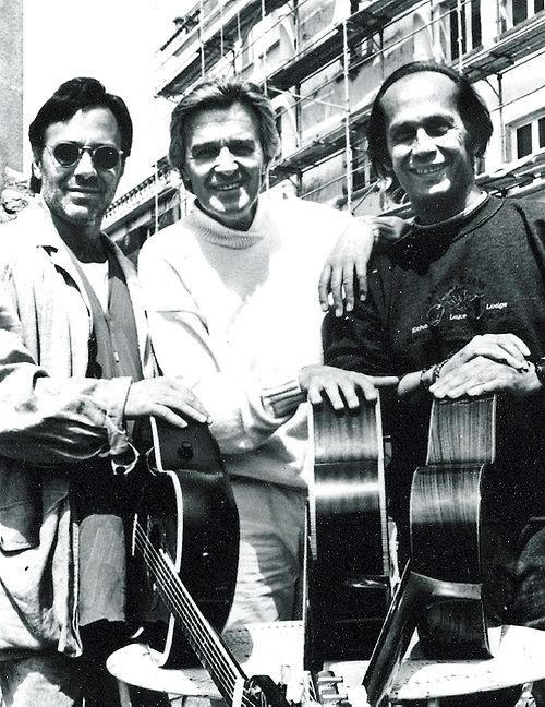 I still listen to Passion, Grace, and Fire till this day. Al Di Meola, John McLaughlin, Paco de Lucia. 1981.
