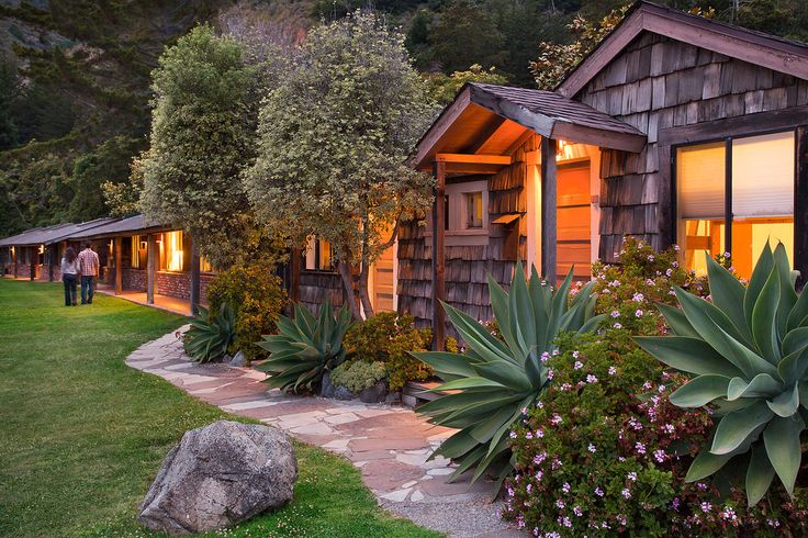 Accommodation Types at Esalen Institute--from sleeping bag to premium rooms
