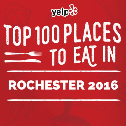 Make 2016 your year to try all 100 places to eat in ROC. There's no denying it, the food scene here is lit. And Yelp's thrilled to be the word-of-mouth guide for locals and visitors alike to discover the hidden (and not-so-hidden) gems of the flower city. For the first time ever, we're releasing our... Read more