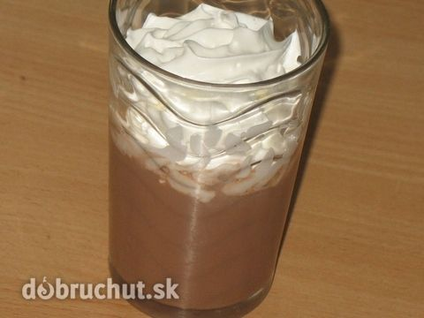 Horúca čokoláda s koňakom