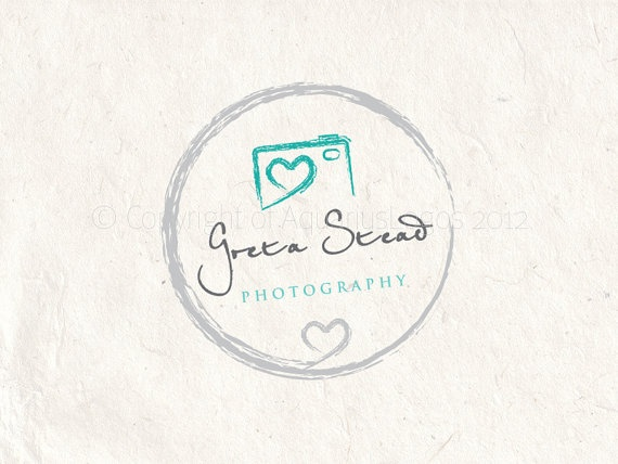 Premade Photography logo design and photography by AquariusLogos, $15.00