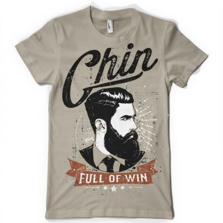 Chin full of win T-shirt design | Tshirt-Factory