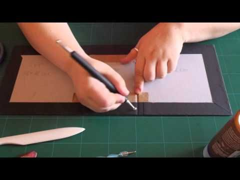 tutorial #1 - mini album 7''x7'' - parte 1 - mirtillamente - YouTube