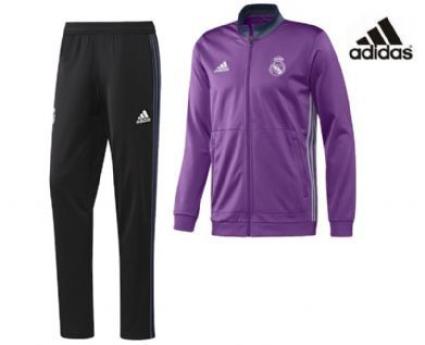 Chandal Morado Real Madrid 2017 Adidas