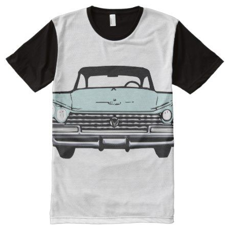 Vintage Car All-Over-Print Shirt - tap to personalize and get yours