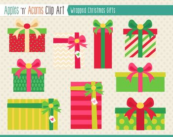 christmas gift pictures clip art