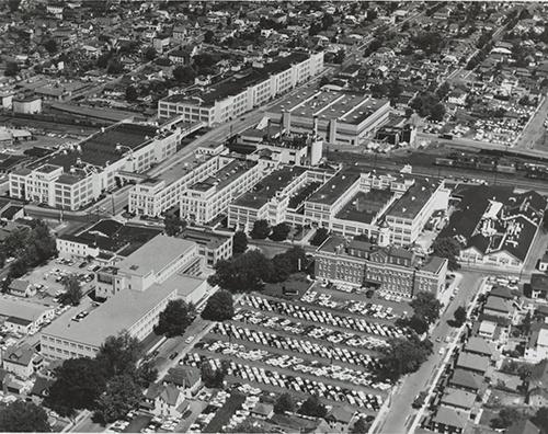 IBM site in Endicott, NY ca. 1962