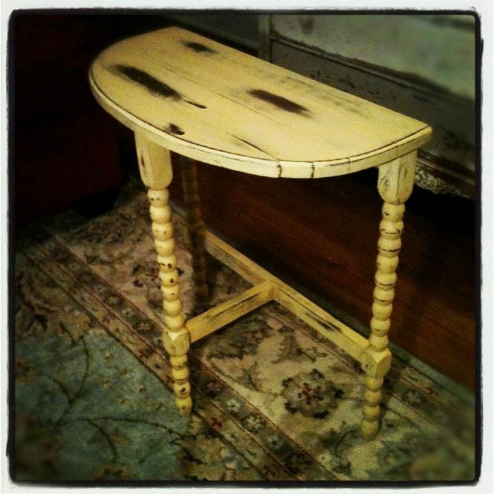Best 25 half moon table ideas on pinterest end tables for 1 2 moon table