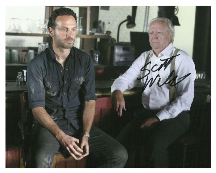 *THE WALKING DEAD*( HERSHEL) Scott Wilson -Autographed- 8x10 RP- - 'THE, 8x10, Autographed, Dead, Hershel, SCOTT, Walking, Wilson