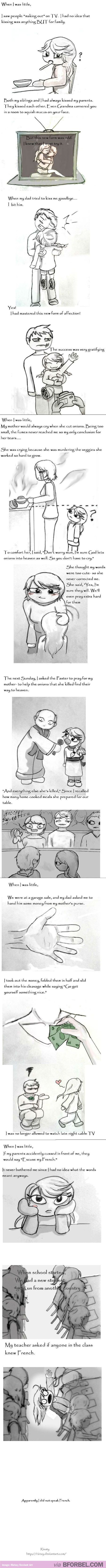 The Embarrassing Moments When I Was Little… I am laughing so hard right now.