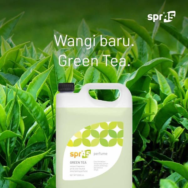 Parfum Laundry Ukuran Jar 5 Liter Wangi Green Tea Fresh Sweet