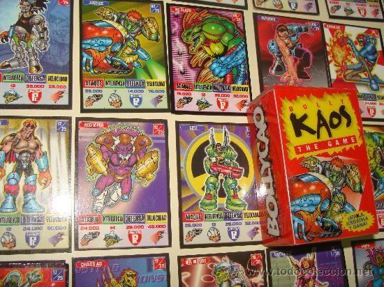 Bollycao Bolly Kaos cards cartas