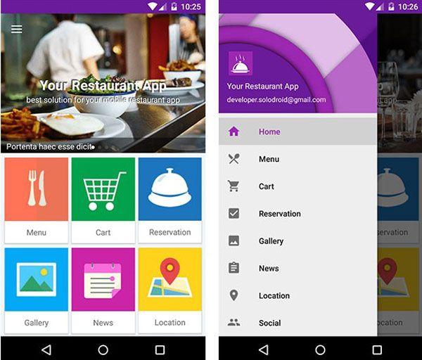 10 Best #Restaurant #App #Templates