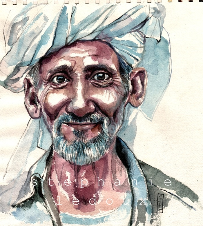 ✈ Carnets de voyages ✈ Les carnets de voyage de Stéphanie Ledoux: Le papi dHadibo (Yemen)