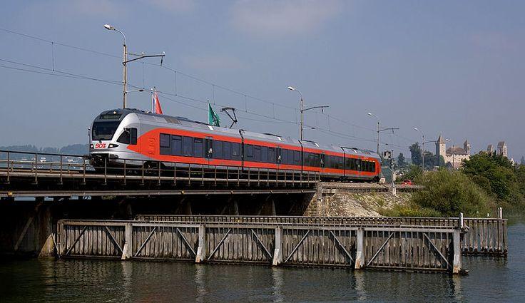 Südostbahn (SOB), FLIRT, Rapperswil (SG) -> Pfäffikon (SZ)