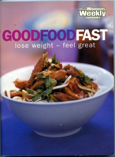 Women-039-s-Weekly-Good-Food-Fast-by-Mary-Coleman-FREE-AUS-POST-used-paperback