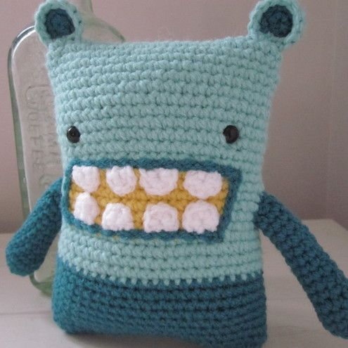 Mick the large lucky amigurumi monster Amigurumi, The large and The ...