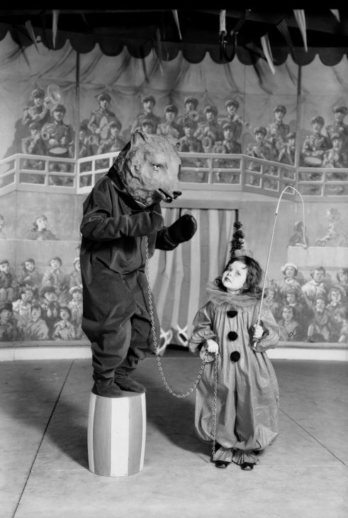 "May Co. Circus, Southern California,1930  ""Dick"" Whittington Photography"