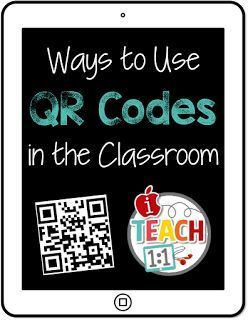 Tons of ideas and freebies for incorporating QR codes in the elementary classroom.