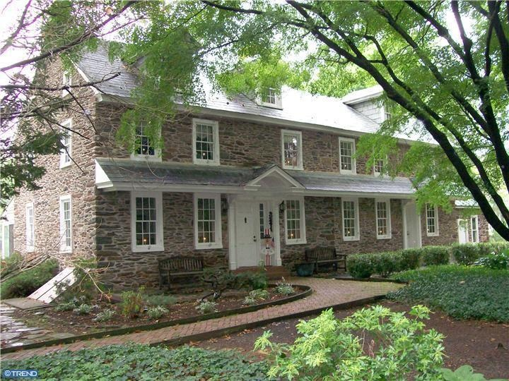 43 best bucks county farmhouses images on pinterest for Pennsylvania stone farmhouses