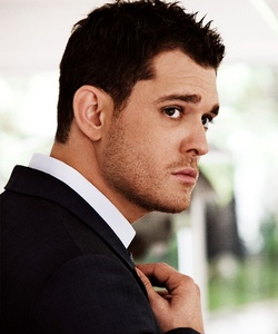 Michael Buble <3 <3 hoping to go see him Live this Fall. :D