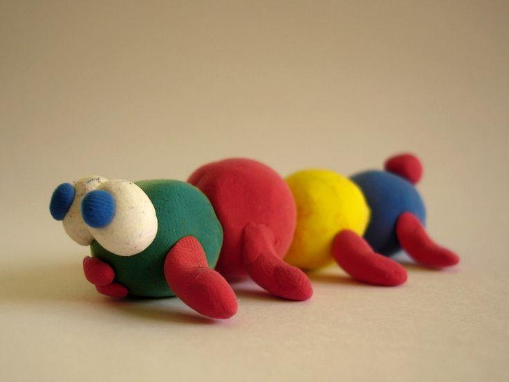 Play Dough Sculptures
